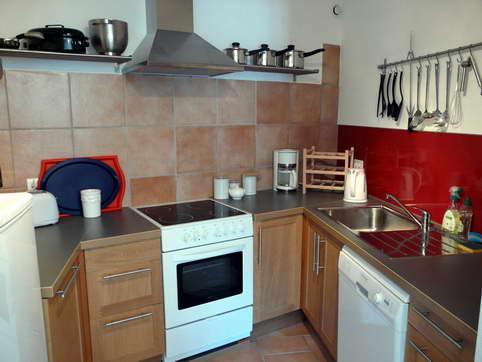 Multi Level Kitchen Island Thick Quartz Apron Sink